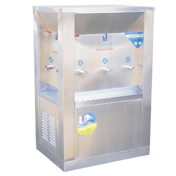 ตู้ทำน้ำเย็น 3 ด้าน OASIS แบบต่อท่อ 7 ก๊อก รุ่น OS_3