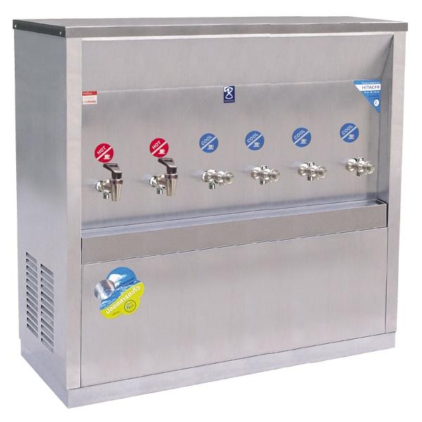 ตู้ทำน้ำร้อน – น้ำเย็น แบบต่อท่อ 6 ก๊อก รุ่น MCH-6P