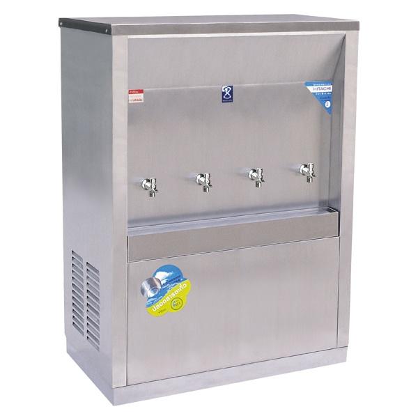 ตู้ทำน้ำเย็น แบบต่อท่อ 4 ก๊อก รุ่น MC-4PW