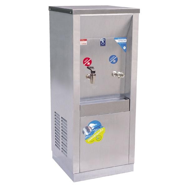 ตู้ทำน้ำร้อน-น้ำเย็น แบบต่อท่อ 2 ก๊อก รุ่น MCH-2PW