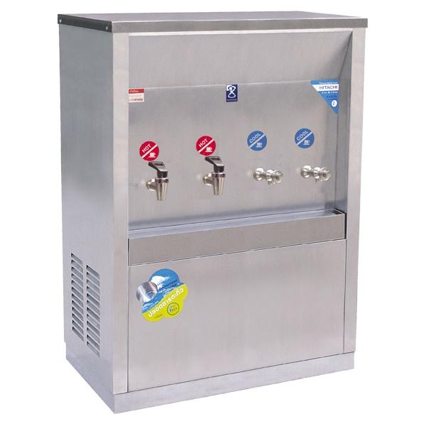 ตู้ทำน้ำร้อน – น้ำเย็น แบบต่อท่อ 4 ก๊อก รุ่น MCH-4P (H2C2)
