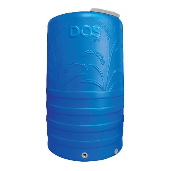 ถังเก็บน้ำ DOS รุ่น Money ขนาด 2000 ลิตร สีน้ำเงิน