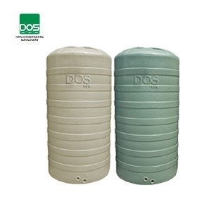 ถังเก็บน้ำ DOS รุ่น Porcio ขนาด 16500 ลิตร สีครีม