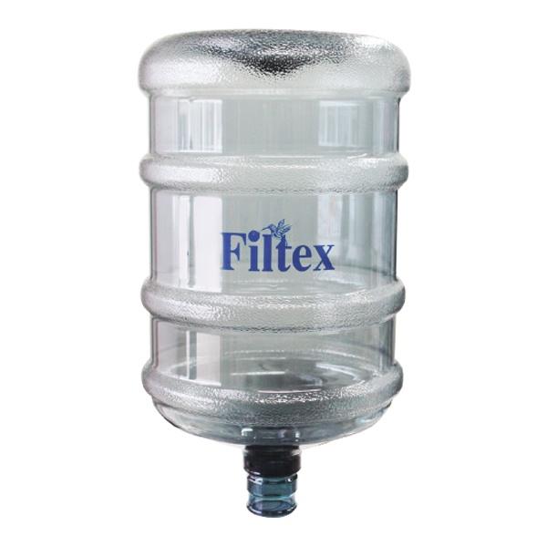 ถังคว่ำน้ำ Filtex 18 ลิตร เเบบใส